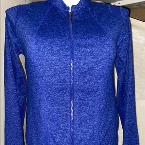 Under Armour athletic gear zip workout jacket